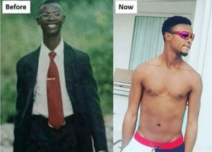 Checkout This Epic Throwback Photo Of Ex-BBA Star, Micheal Bassey